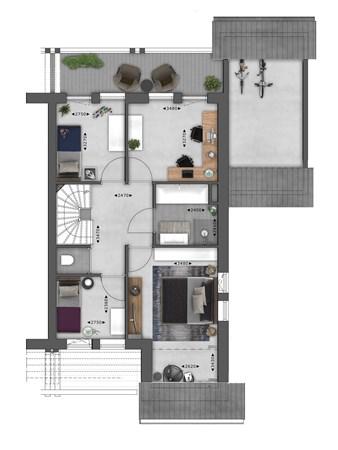Floorplan - Bouwnummer 004 Bouwnummer 004, 4125 Hoef En Haag