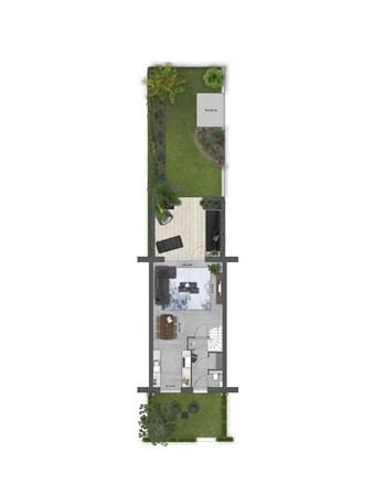 Floorplan - Bouwnummer 009 Bouwnummer 009, 4125 Hoef En Haag