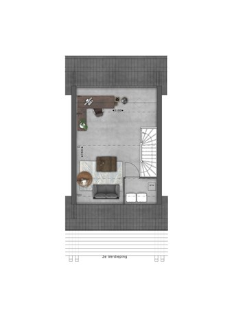 Floorplan - Bouwnummer 010 Bouwnummer 010, 4125 Hoef En Haag
