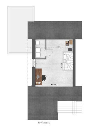 Floorplan - Bouwnummer 012 Bouwnummer 012, 4125 Hoef En Haag