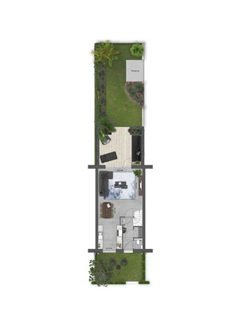 Floorplan - Bouwnummer 015 Bouwnummer 015, 4125 Hoef En Haag