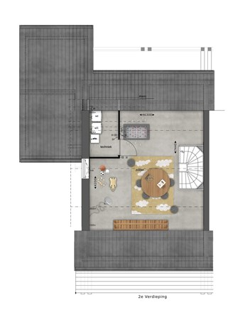 Floorplan - Bouwnummer 019 Bouwnummer 019, 4125 Hoef En Haag
