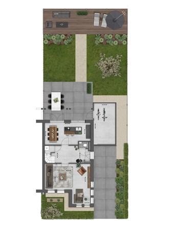 Floorplan - Bouwnummer 020 Bouwnummer 020, 4125 Hoef En Haag