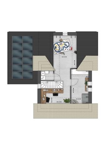 Floorplan - Bouwnummer 021 Bouwnummer 021, 4125 Hoef En Haag