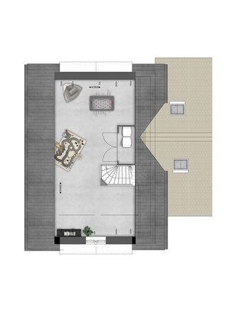Floorplan - Bouwnummer 022 Bouwnummer 022, 4125 Hoef En Haag