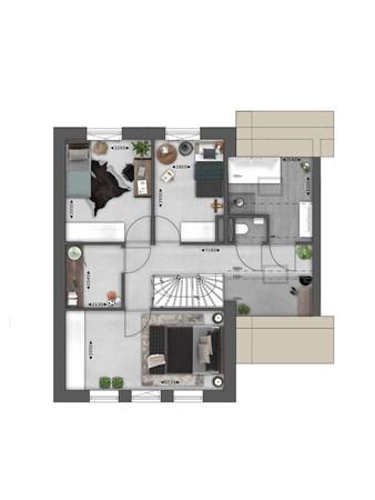 Floorplan - Bouwnummer 023 Bouwnummer 023, 4125 Hoef En Haag