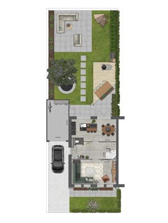 Floorplan - Bouwnummer 027 Bouwnummer 027, 4125 Hoef En Haag