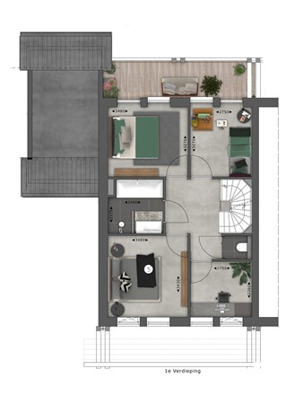 Floorplan - Bouwnummer 028 Bouwnummer 028, 4125 Hoef En Haag