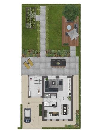 Floorplan - Bouwnummer 032 Bouwnummer 032, 4125 Hoef En Haag