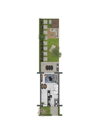 Floorplan - Bouwnummer 033 Bouwnummer 033, 4125 Hoef En Haag