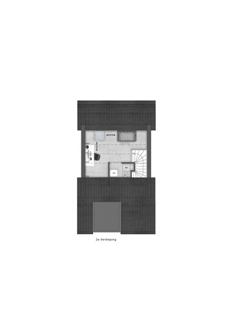 Floorplan - Bouwnummer 034 Bouwnummer 034, 4125 Hoef En Haag