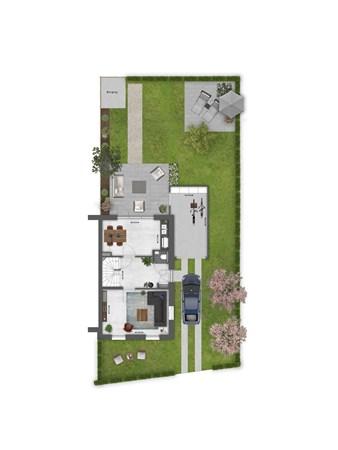 Floorplan - Bouwnummer 036 Bouwnummer 036, 4125 Hoef En Haag