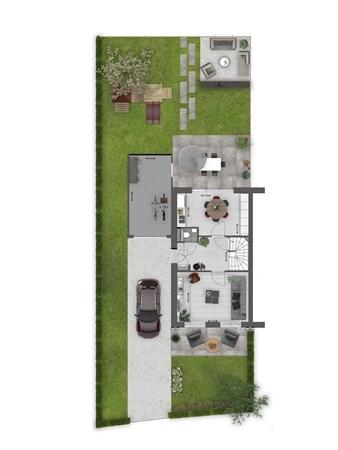 Floorplan - Bouwnummer 037 Bouwnummer 037, 4125 Hoef En Haag