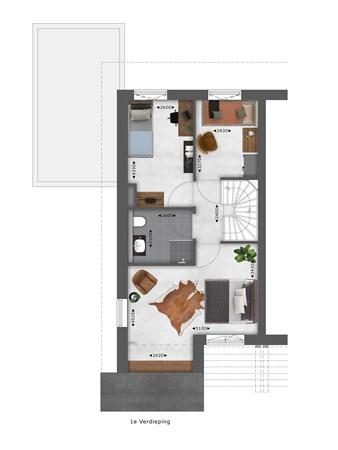 Floorplan - Bouwnummer 041 Bouwnummer 041, 4125 Hoef En Haag