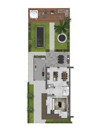 Floorplan - Bouwnummer 043 Bouwnummer 043, 4125 Hoef En Haag