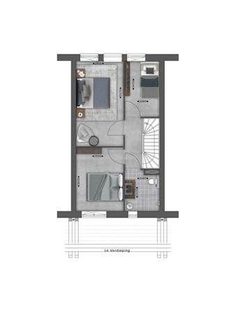Floorplan - Bouwnummer 050 Bouwnummer 050, 4125 Hoef En Haag