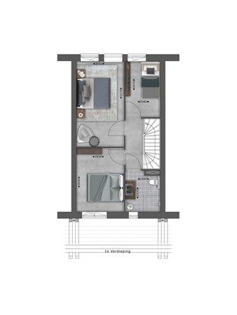 Floorplan - Bouwnummer 051 Bouwnummer 051, 4125 Hoef En Haag