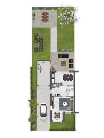 Floorplan - Bouwnummer 062 Bouwnummer 062, 4125 Hoef En Haag