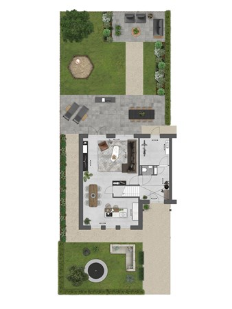 Floorplan - Bouwnummer 065 Bouwnummer 065, 4125 Hoef En Haag