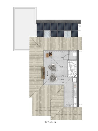 Floorplan - Bouwnummer 068 Bouwnummer 068, 4125 Hoef En Haag