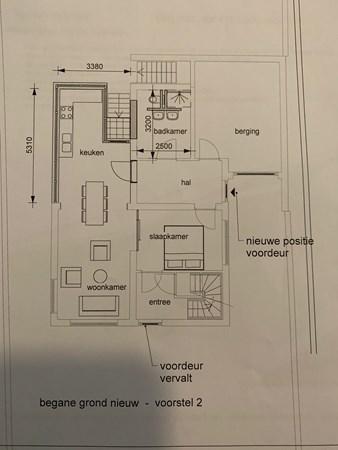 Floorplan - Kerkweg 20, 7038 CG Zeddam