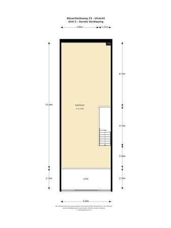 Floorplan - Nijverheidsweg 23-27, 3534 AM Utrecht
