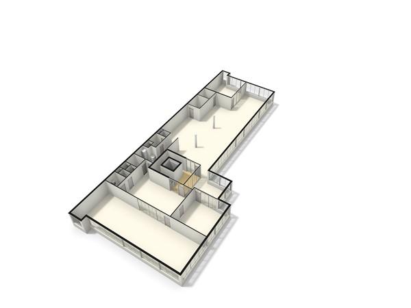 Floorplan - Willem Arntszlaan 115, 3734 EE Den Dolder