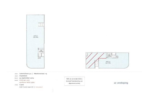 Floorplan - Lorentzlaan 3, 3401 MX IJsselstein