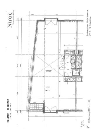 Floorplan - Rembrandtlaan 26B, 3723 BJ Bilthoven