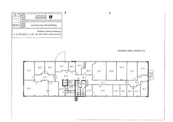 Floorplan - Jan Van Eycklaan 2, 3723 BC Bilthoven