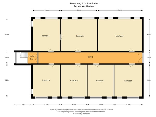 Floorplan - Straatweg 62, 3621 BR Breukelen