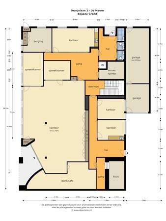 Floorplan - Oranjelaan  2, 3454 BT De Meern