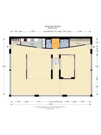Floorplan - Boteyken  323, 3454 PD De Meern