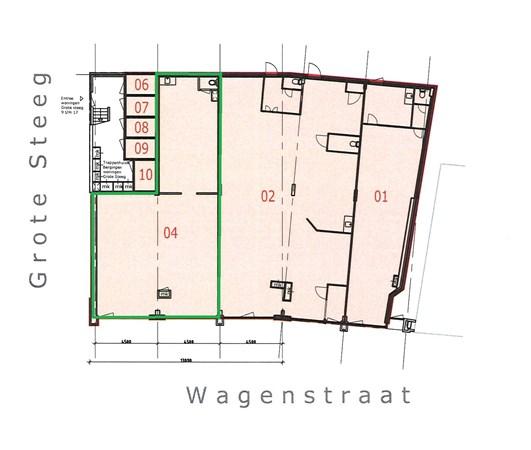 Floorplan - Wagenstraat 12, 3441 BM Woerden