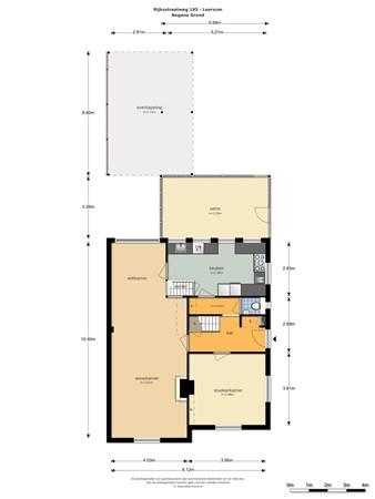 Floorplan - Rijksstraatweg 195, 3956 CM Leersum