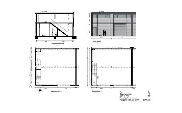 Floorplan - Nijverheidsweg 23, 3534 AM Utrecht
