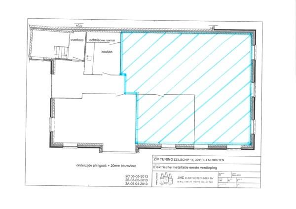 Floorplan - Zeilschip 18, 3991 CT Houten