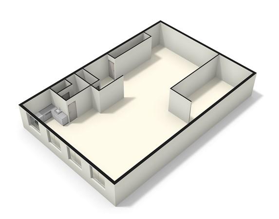 Floorplan - Willem Arntszlaan 117, 3734 EE Den Dolder