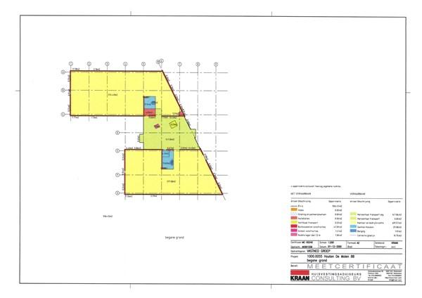 Floorplan - De Molen 82-92, 3995 AX Houten