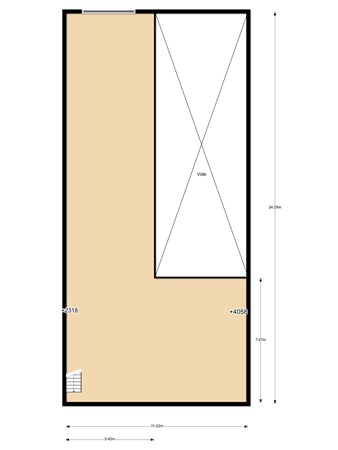 Floorplan - Peppelkade 28, 3992 AK Houten