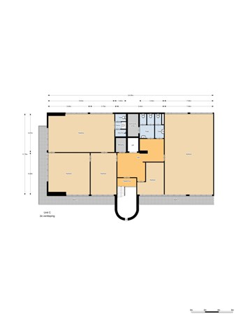 Floorplan - Schipholweg 331C, 1171 PL Badhoevedorp