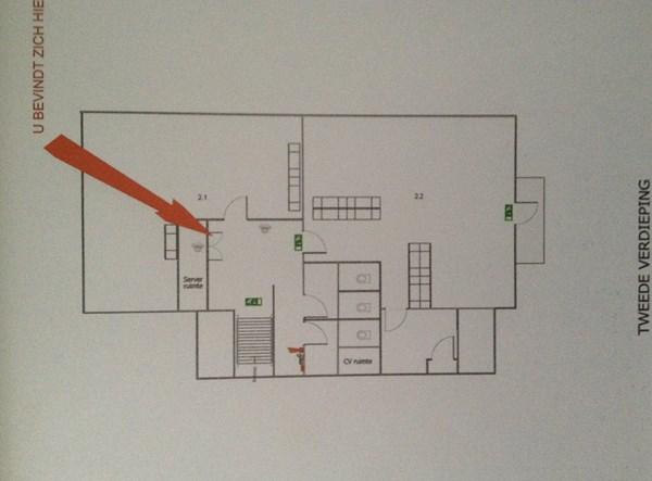 Floorplan - Noordeinde 124B, 1121 AL Landsmeer