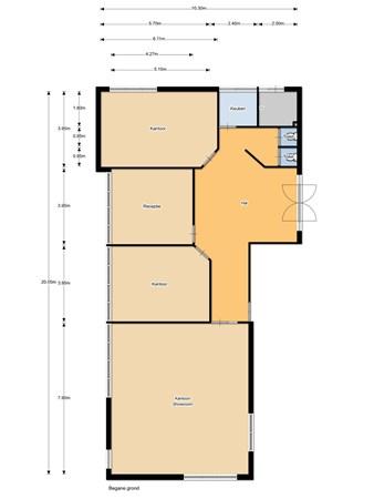 Floorplan - Noordeinde 128G, 1121 AL Landsmeer