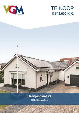 Brochure preview - Oranjestraat 24, 4112 JH BEUSICHEM (1)