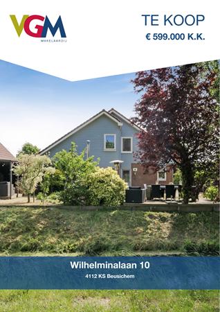 Brochure preview - Wilhelminalaan 10, 4112 KS BEUSICHEM (1)