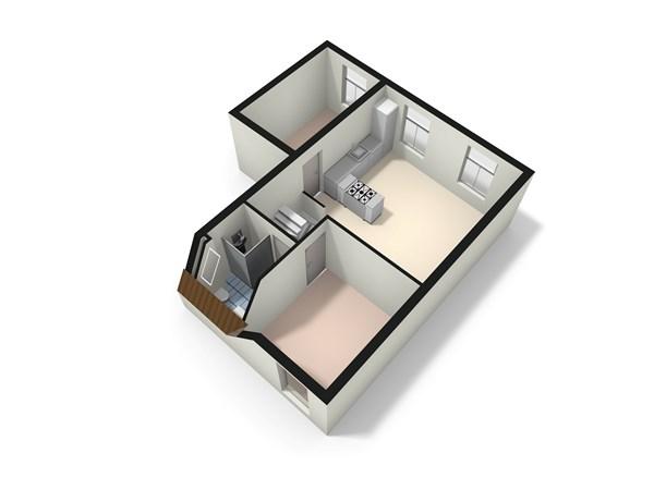 Floorplan - Douwes Dekkerstraat 30A, 3532 XB Utrecht