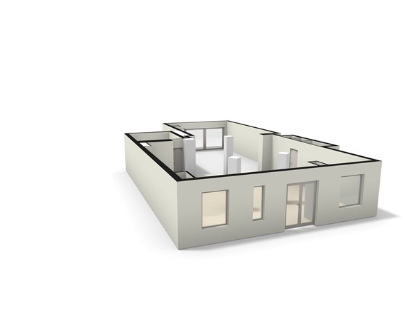 Floorplan - Slimstraat 36, 5071 EK Udenhout