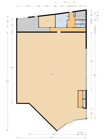 Floorplan - Bosscheweg 255-01, 5013 AB Tilburg