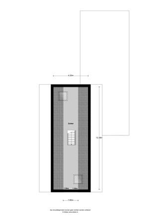 Floorplan - Lange Schaft 19, 3991 AP Houten
