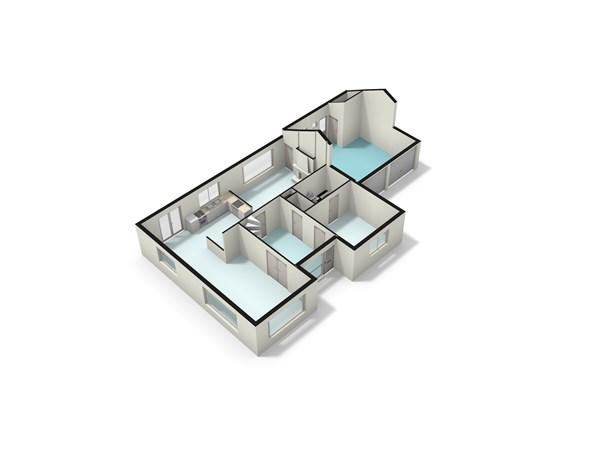 Floorplan - Wickenburghseweg 92, 3997 MX 't Goy